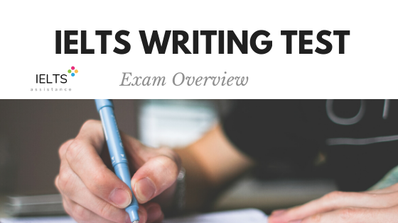 ieltsassistance.co.uk IELTS Writing Test Exam Overview