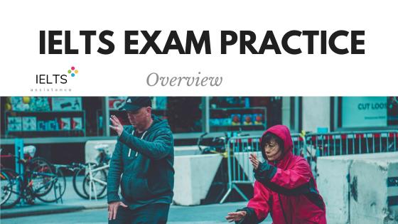 IELTS exam practice overview